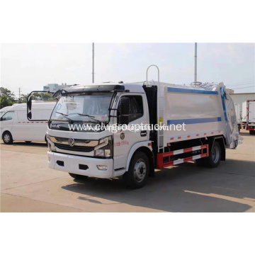 Dongfeng 8cbm Euro4 compression garbage truck