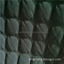 Flame-retardant Ultrasonic Quilted Fabric for Auto Seat Covers, Needle Punched and Thermo Bonded