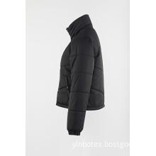 Black short  padding coat