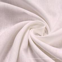 100% puro tejido de lino puro color sólido tela de lino
