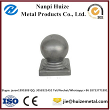 Galvanized Square Round Steel Fence Post Cap