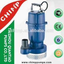 Bomba de água submergível limpa da série do qualitp QDX do chimpanzé 2.0HP alta para a irrigação