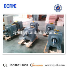 R type helical heavy duty gearbox gearmotor for Crusher Cement Quarry Mining