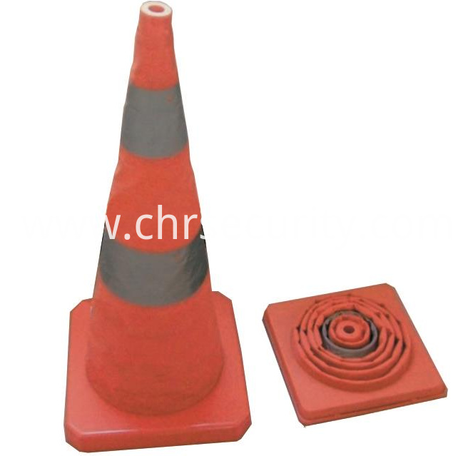 Elastic Retractable Traffic Cone-Collapsible Traffic Cone