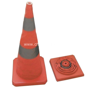 Elastic Retractable Traffic Cone/Collapsible Traffic Cone