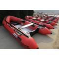 4,2 m bateau à moteur pneumatique haute vitesse pour le sauvetage