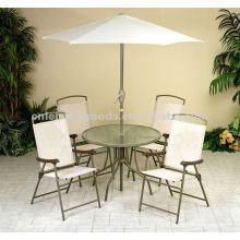 6pcs Sling patio furniture set