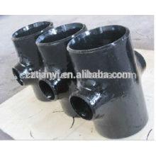 ASME B16.9 Углеродистая сталь Бесшовный редукционный тройник