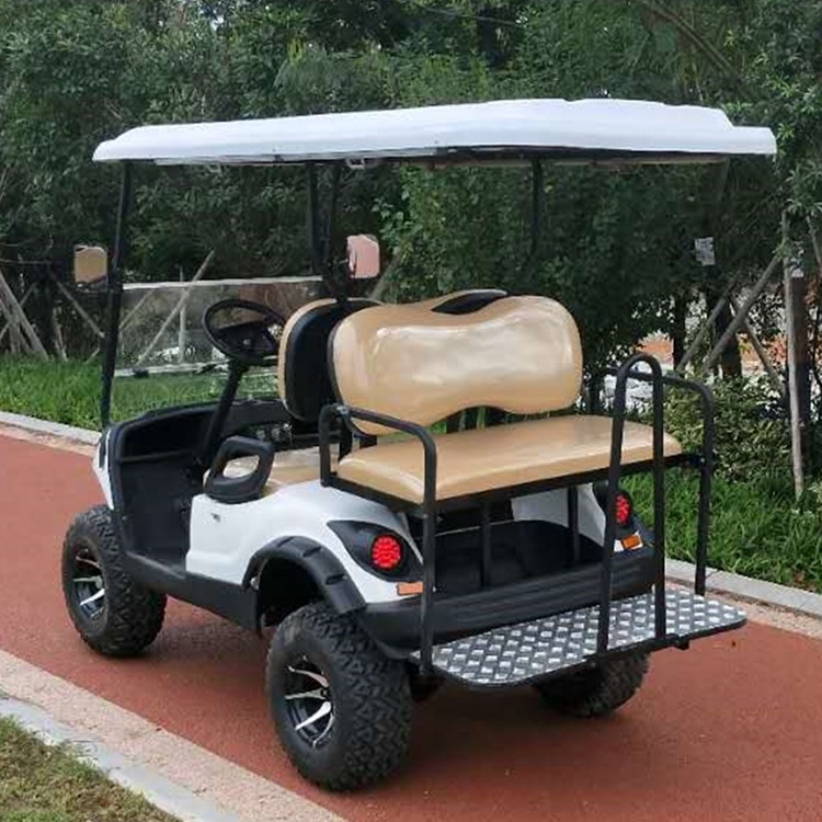 New 4 seats gas golf cart off road