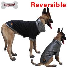 2017 Venda Quente Calor Pata Quente Reflexivo Velo Grande Cão inverno Hoodie pet jaqueta