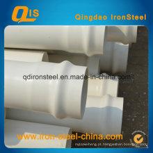 Tubo de PVC para irrigação