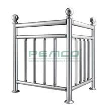 Inox 304 316 Deck Welding Railing Kits Stainless Steel Welding Handrail Set