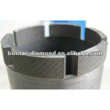 Taladro hueco de núcleo de diamante para perforación de hormigón