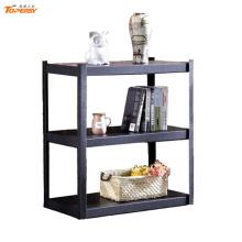 600*400*900 mm Home use light duty 3 tier black angle iron shelf