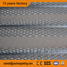 Conta de canto de metal revestida de PVC