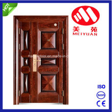 Entry Steel Door for Outside, 2017 New Design Son-Mother Door
