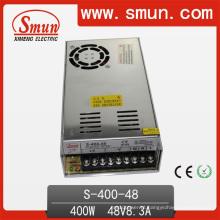 Fonte de alimentação de comutação 400W 48V PSU com ventilador de refrigeração