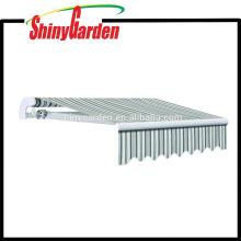10 '* 8' Garden Balcony Patio Deck Toldo / Sun Shade Rain Shelter canopy Aluminio toldo partes