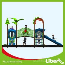 Chine Design le plus récent Enfants utilisés Terrain de jeu extérieur / équipement de parc d'attraction / aire de jeux préscolaire