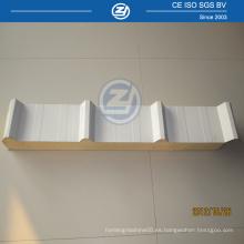 Paneles sandwich de pared de techo para edificio prefabricado