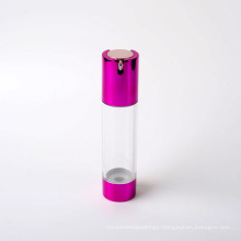 40ml Plastic Airless Pump Bottle with Aluminum Pump (EF-A60040)