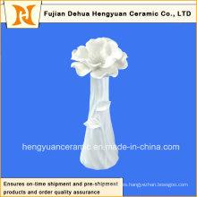 Jarrón de cerámica creativa, jarrón de muebles para el hogar (grande)