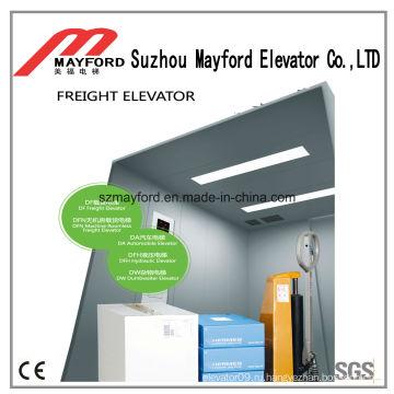Грузовой лифт для тяги с одним отверстием