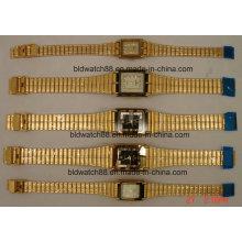 Montre-bracelet en or antique pour les amoureux