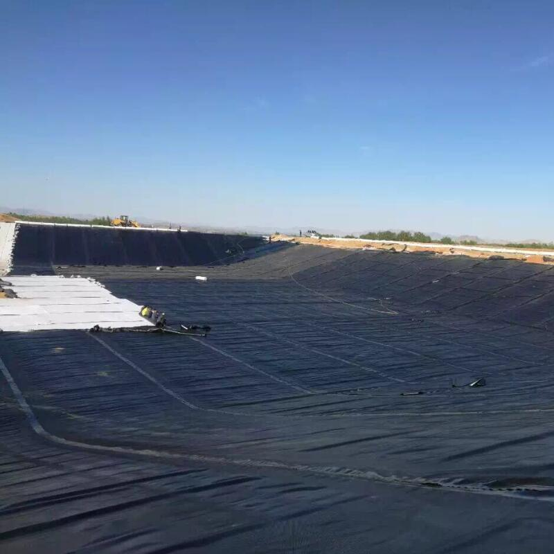 textured geomembrane application