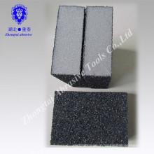 Carro de espuma branca de densidade média polimento e limpeza bloco de lixamento abrasivo