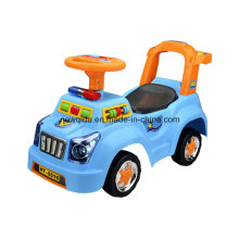 Горячая Распродажа полиция качели автомобиль ходунки с легкой музыкой Souna