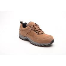 Venda quente couro Nubuck marrom e sapatos de segurança de couro camurça (LZ5001)