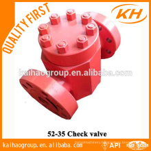 API 6A High Pressure Wellhead Check Valve China factory KH