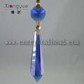 Gota candelabro DX06 cor azul cristal vidro