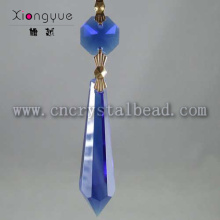 DX06 blue color crystal glass chandelier drop