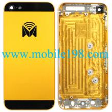 Couverture arrière de logement de jaune d'OEM pour Apple iPhone5