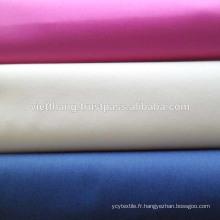 Tissu cardé blanc / uni / 100% coton - LA PLUS HAUTE QUALITÉ DU VIETNAM