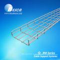 Покрынный цинком стальной поднос кабеля ячеистой сети с помощью шпилек и аксессуары