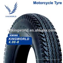 4.00-8 guter Qualität drei Rad Reifen für Tuk tuk
