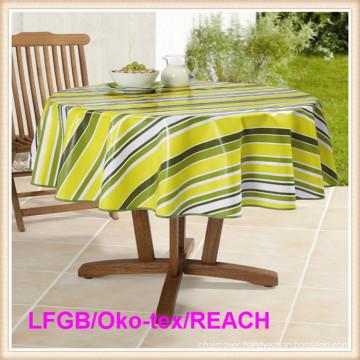 PEVA Printed Tablecloths LFGB Grade