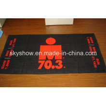 Reactive Printing Velour Towel (SST0347)