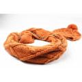 Mens Unisex Winter Warm Customerized Schal Beanie Set Kabel gestrickte Schal (SK171S)