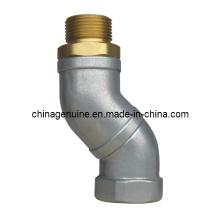 Zcheng Fuel Dispenser Parts Pareja de aceite universal articulación manguera giratoria Zcs-04