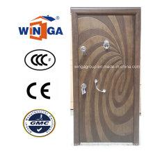 Art de style Winga Security Steel MDF Veneer Armored Door (W-T04)