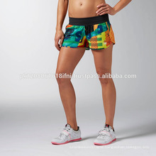 Custom made printed sublimated crossfit shorts for women and girls