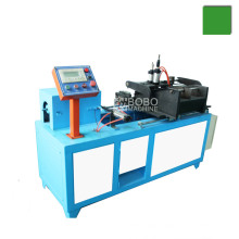 Full automatic condenser pipe end shrinking machine