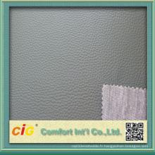 Cuir en PVC de haute qualité en Chine