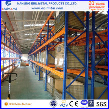 Metallic Steel Iron Warehouse Storage Rack Selective Pallet Racking