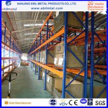 Металлическая стальная железная складская стойка для хранения Сетчатая стойка для поддонов