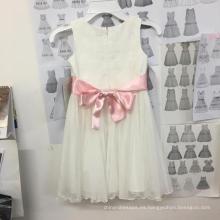 Chicas de flores / Princesas / vestido blanco / vestido de novia niño